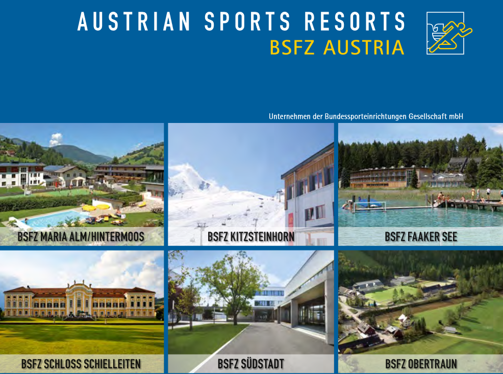 Sommer 2020 - Austrian Sports Resorts